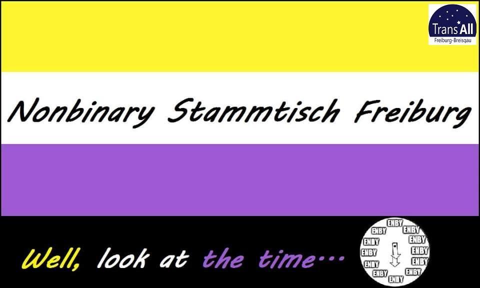 Banner Nonbinary Stammtisch